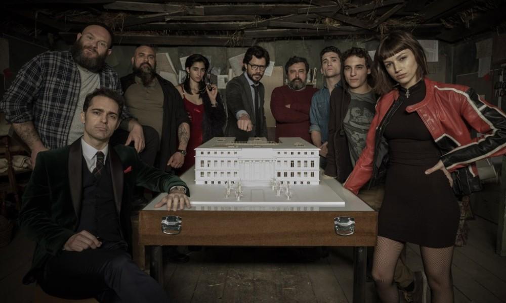 Бумажный дом 2 сезон, главные герои
