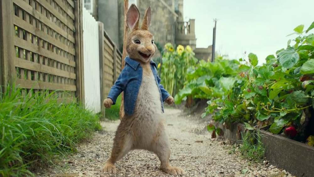 Кролик Питер 2, кадр из мультфильма 2