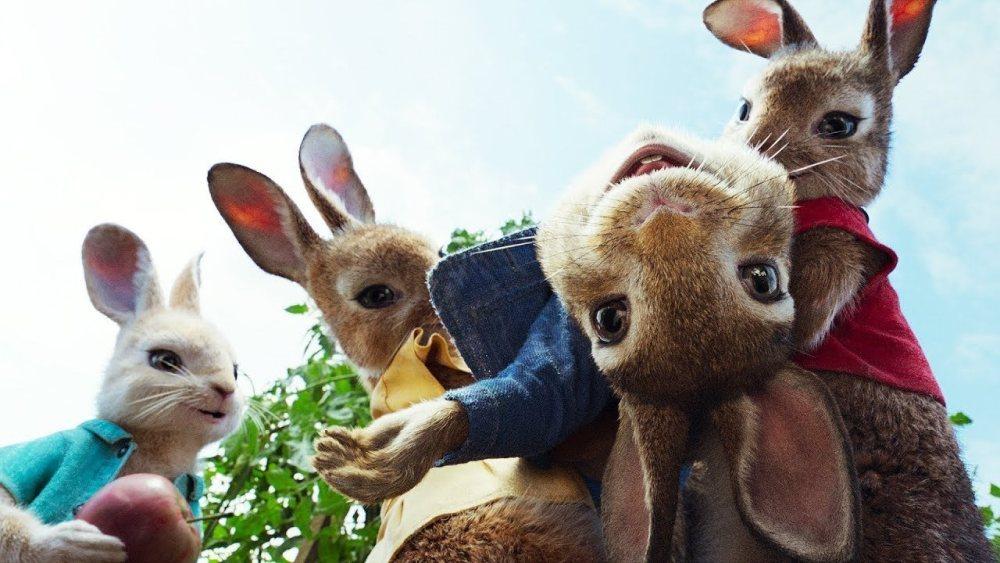 Кролик Питер 2, кадр из мультфильма