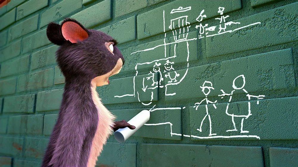 Реальная белка 3, кадр из мультфильма