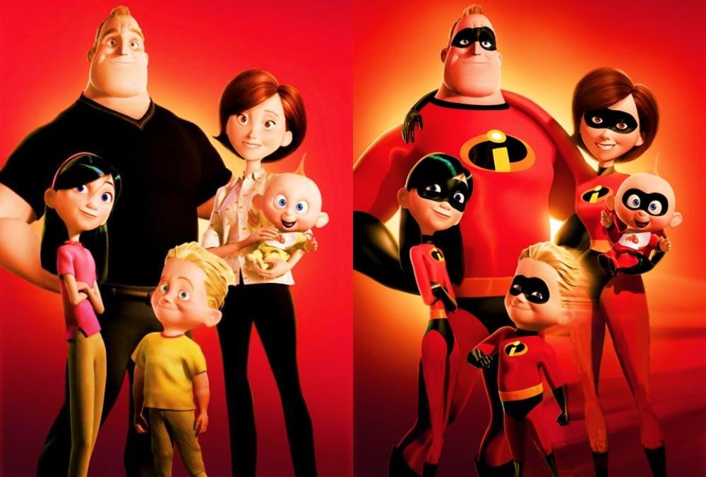 Суперсемейка 2, костюмы главных героев