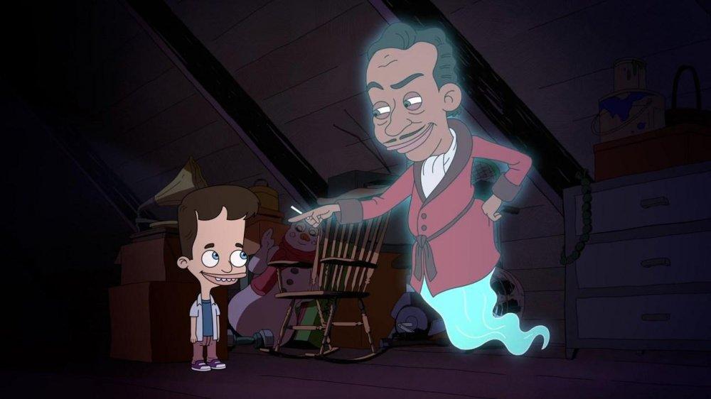 Большой рот 2 сезон, кадр из мультсериала 2