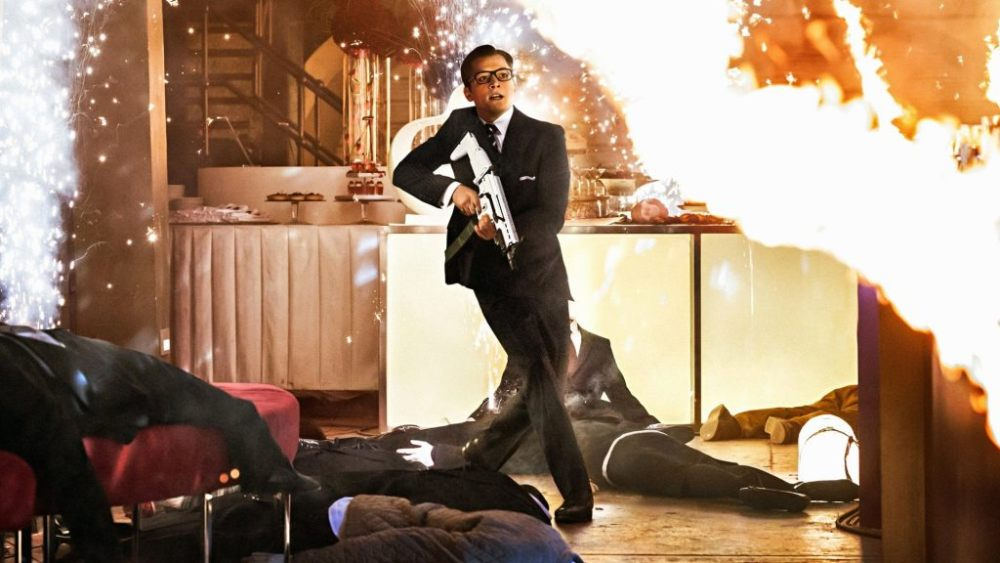 Кингсман 3, кадр из фильма