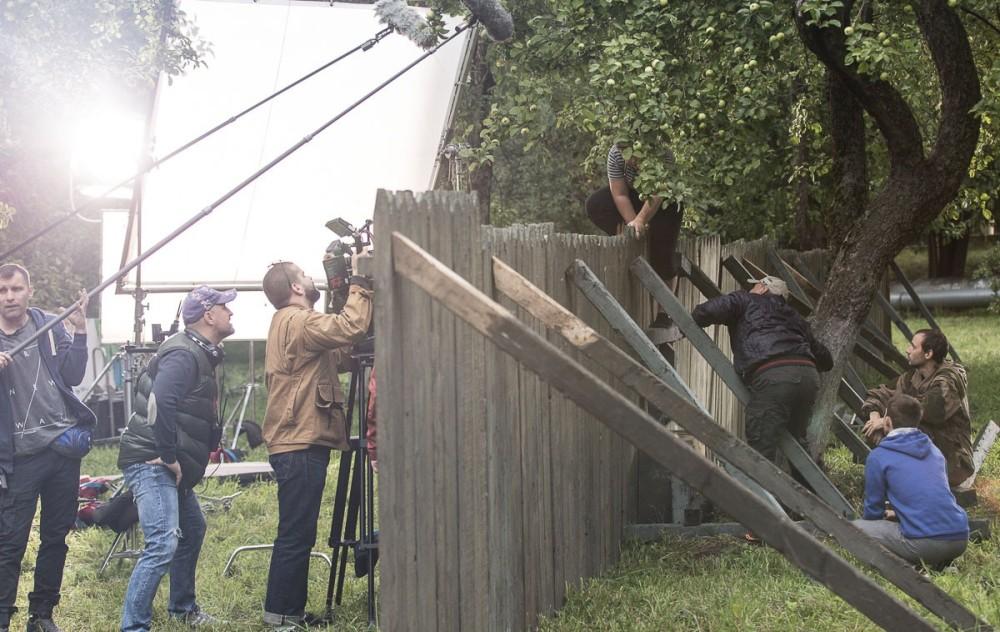 Крепость Бадабер 2 сезон, на съёмочной площадке