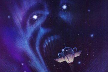Летящий сквозь ночь, постер