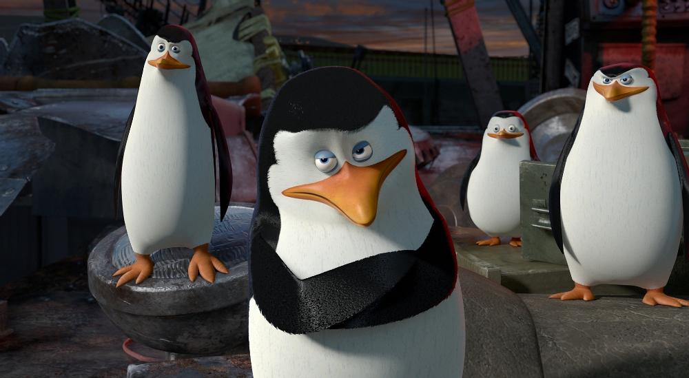 Мадагаскар 5, пингвины