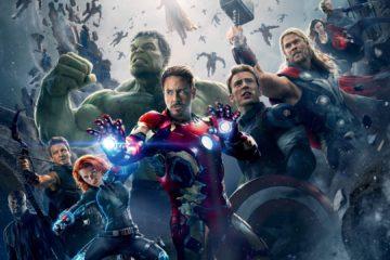 Мстители: Война бесконечности, постер