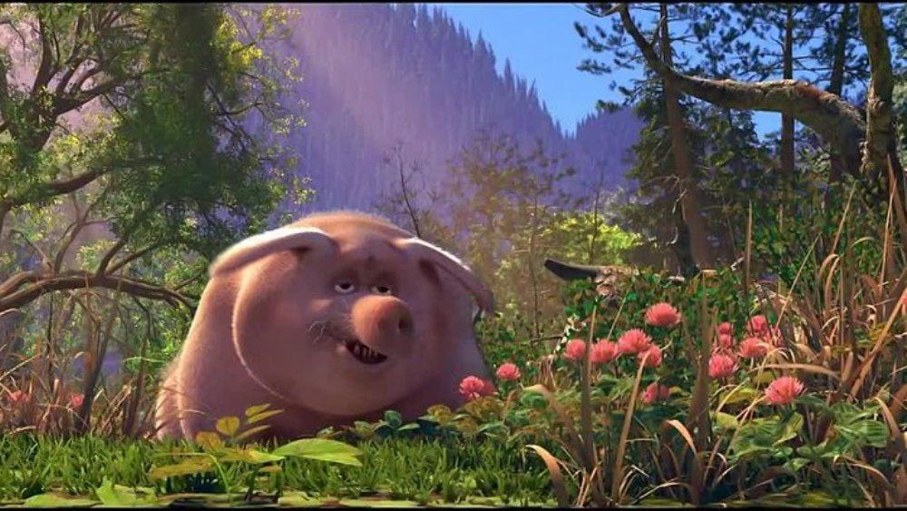 Садко 2, кадр из мультфильма, свинья