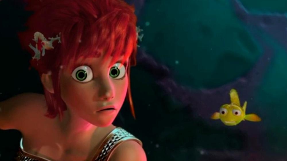Садко 2, кадр из мультфильма, русалка