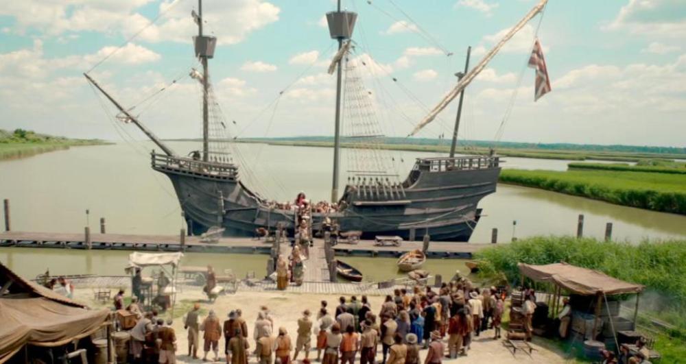 Джеймстаун 3 сезон, кадр из сериала 3