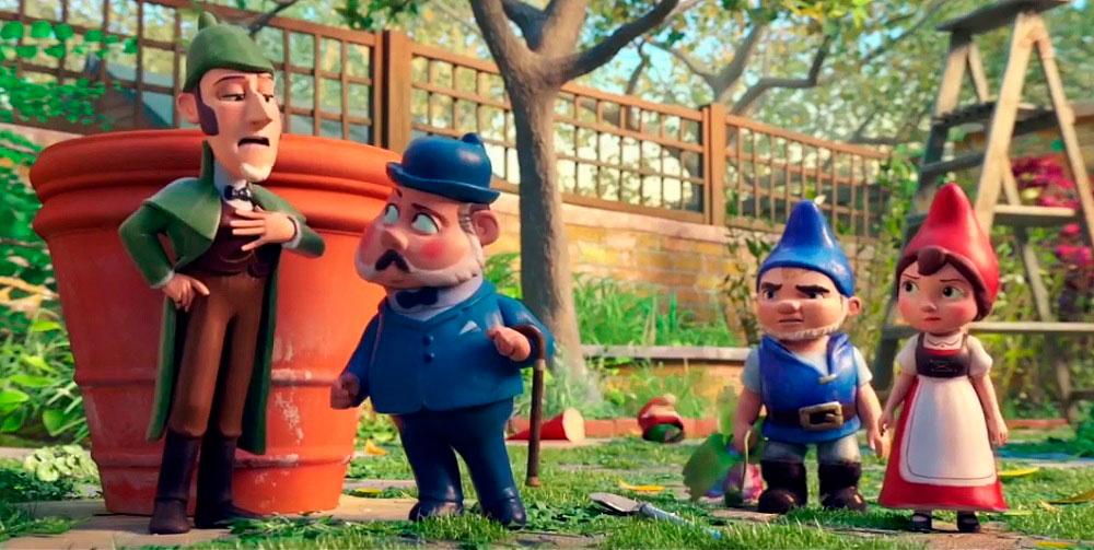 Гномео и Джульетта 3, кадр из мультфильма 2