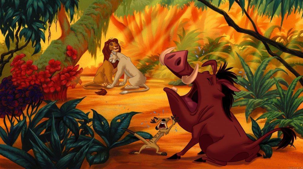 Король Лев 4, кадр их мультфильма 2