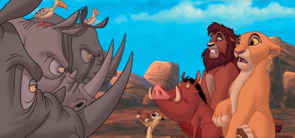 Король Лев 4, кадр из мультфильма 3