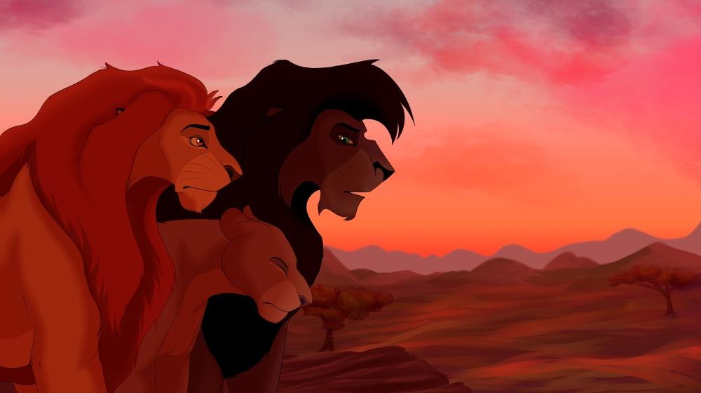 Король Лев 4, кадр из мультфильма