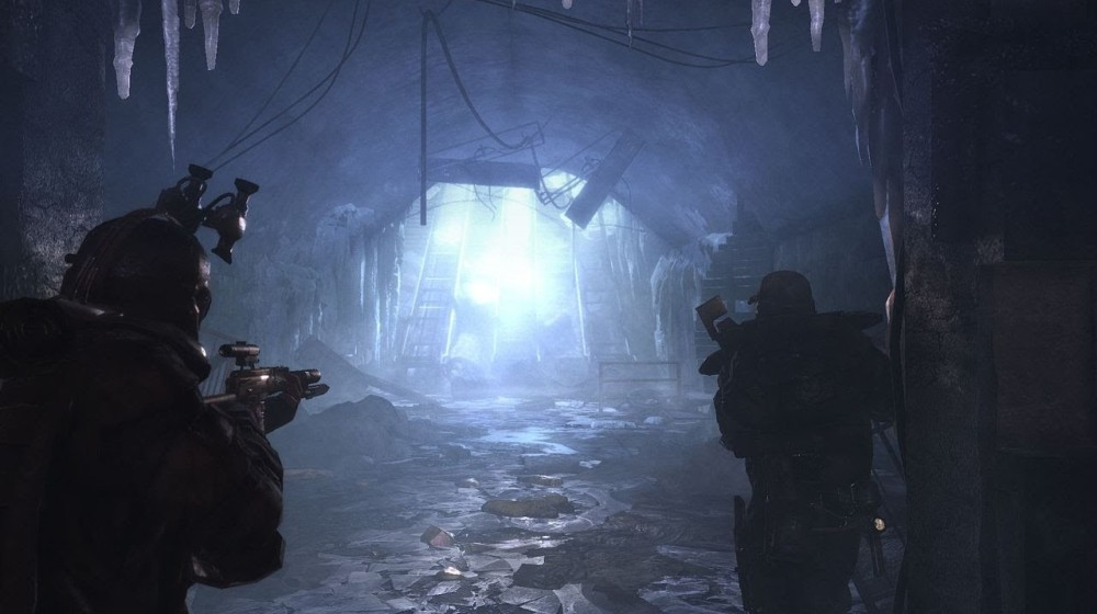 Метро 2033, туннель