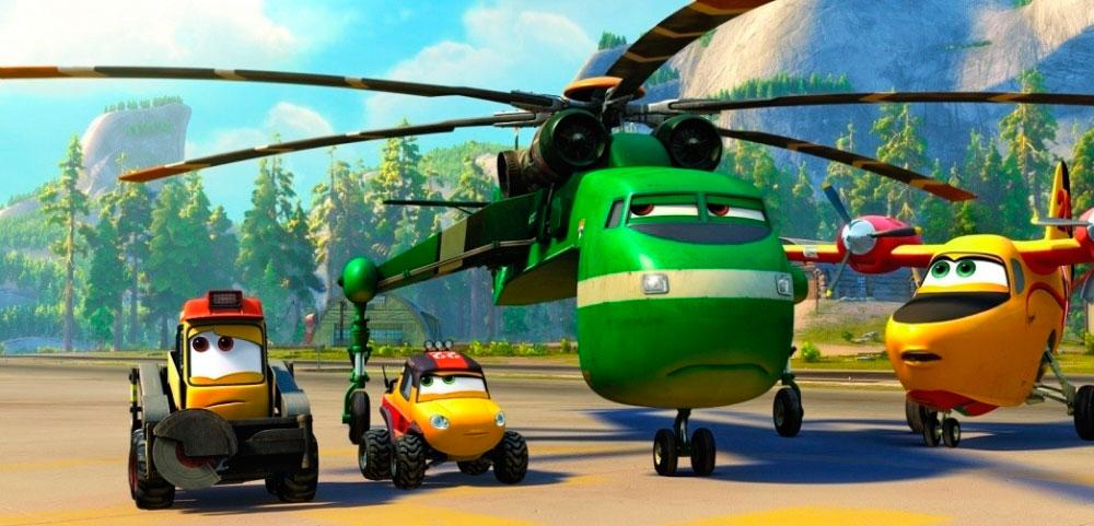 Самолеты 3 и вертолёт