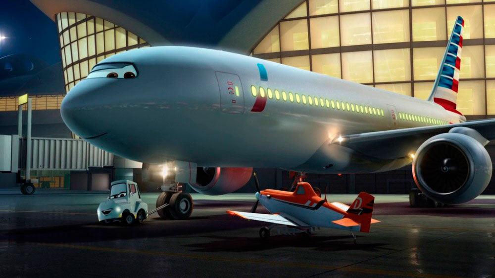 Самолеты 3, кадр из мультфильма