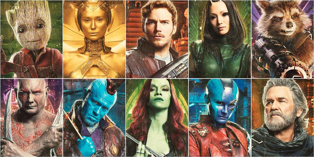 Стражи Галактики 3, главные герои