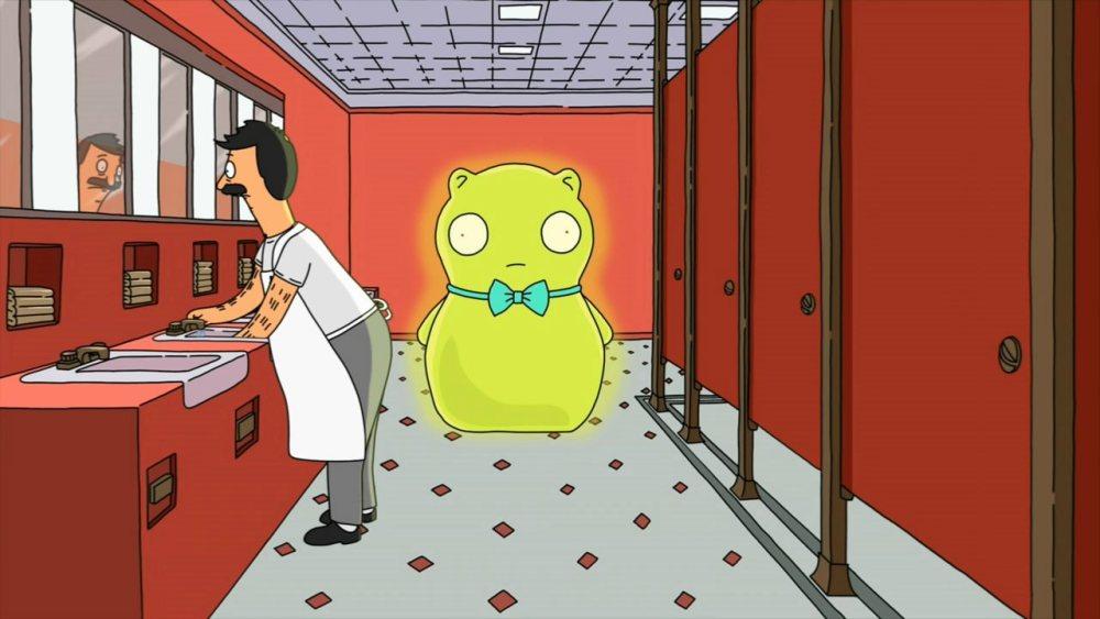 Закусочная Боба 9 сезон, кадр в туалете