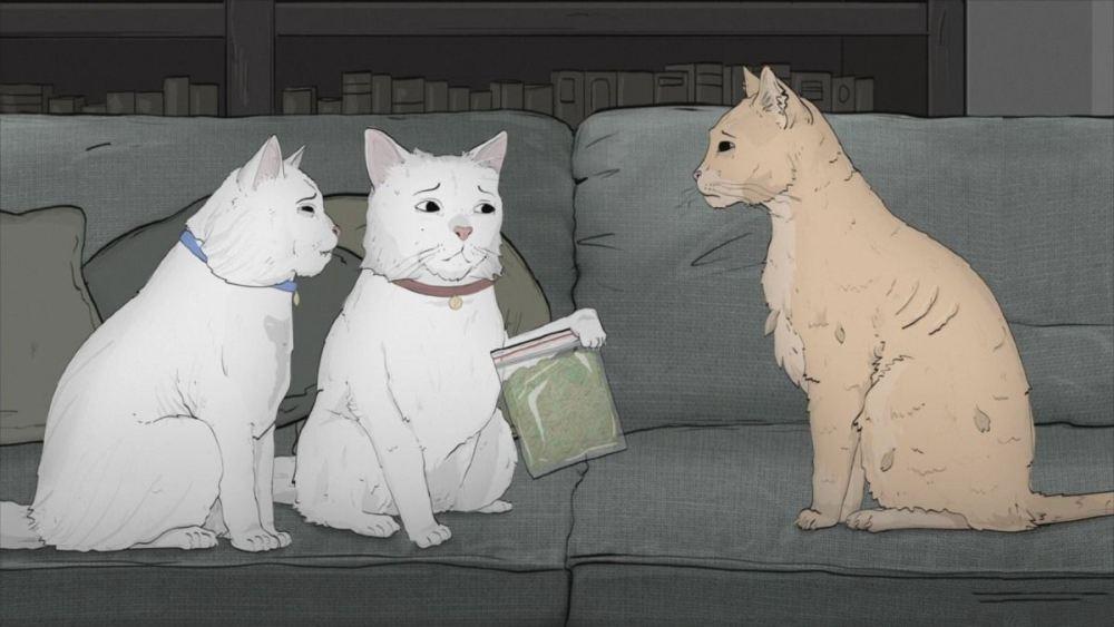 Звери 3 сезон, кадр из мультсериала