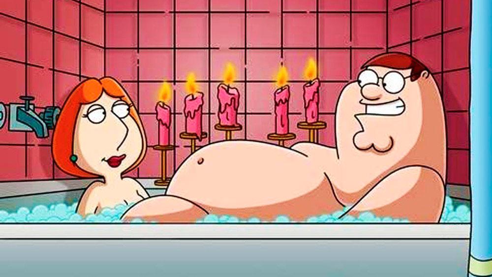 Гриффины 17 сезон, кадр из мультсериала 2