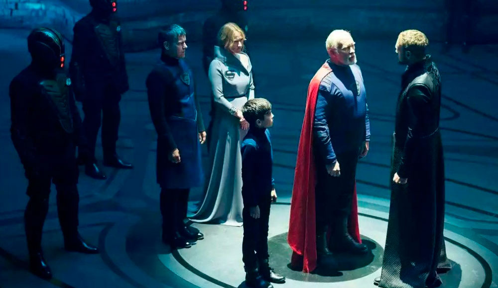 Криптон 2 сезон, кадр из сериала