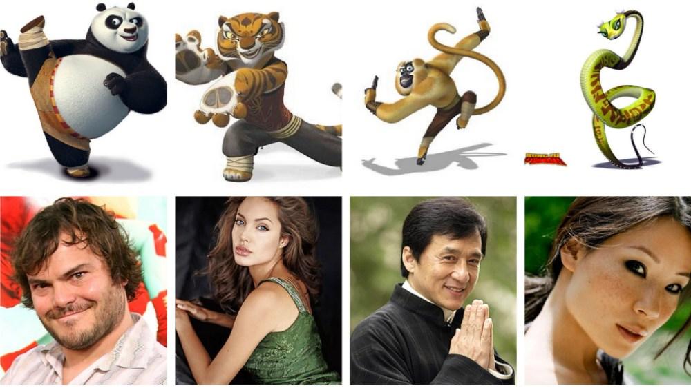 Кунг-фу Панда 4, актёры озвучивания