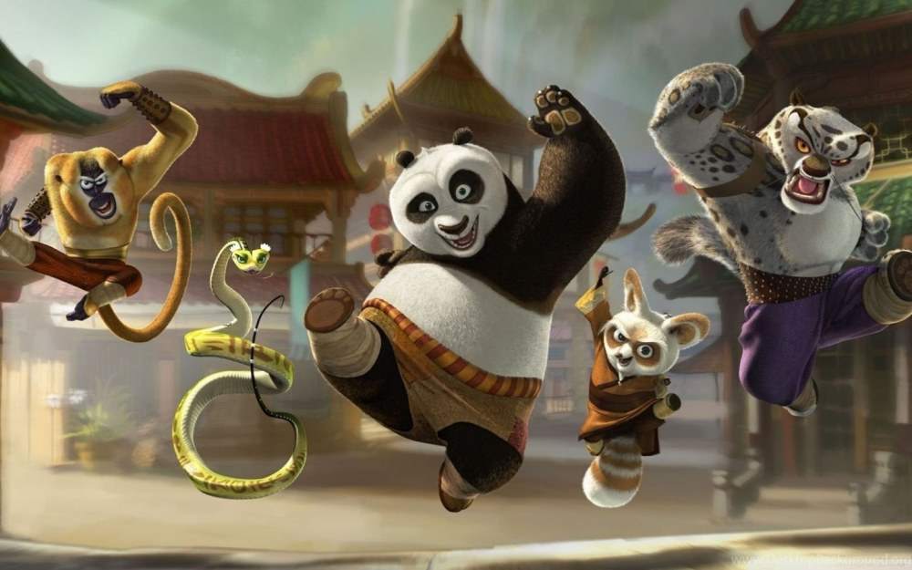 Кунг-фу Панда 4, кадр из мультфильма