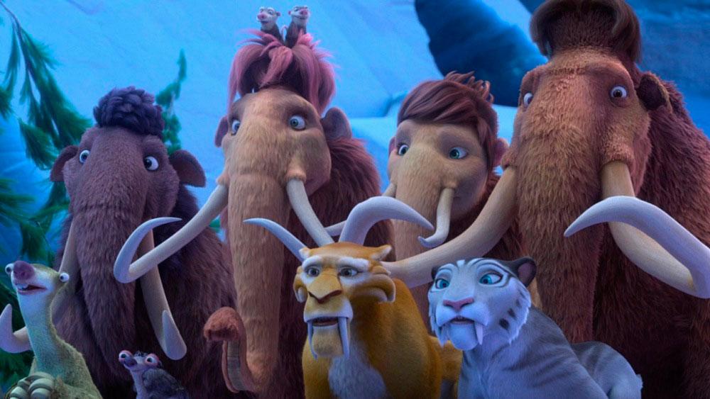 Ледниковый период 6, кадр из мультфильма 2