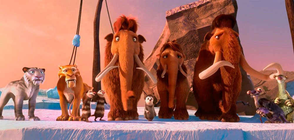 Ледниковый период 6, кадр из мультфильма