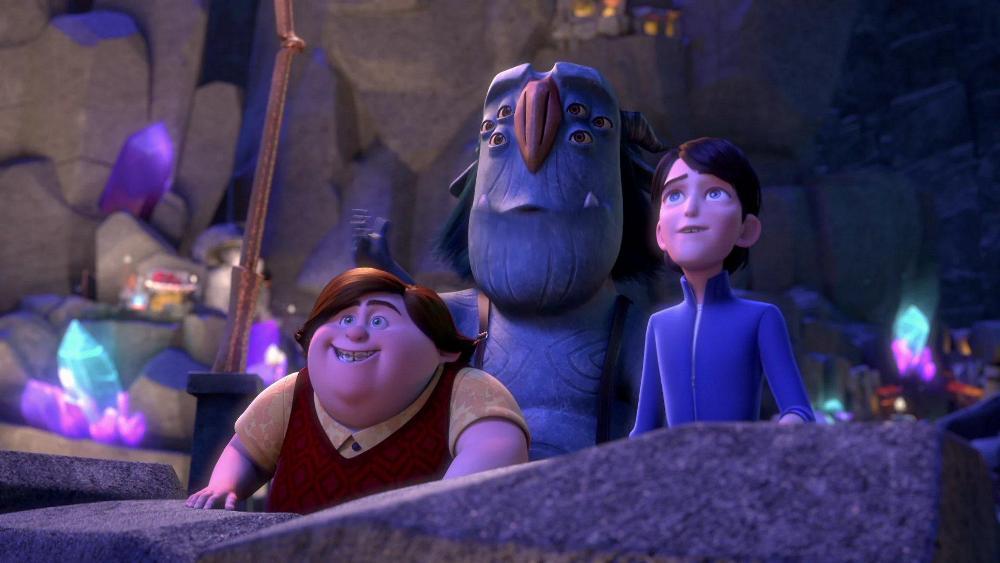 Охотники на троллей 3 сезон, кадр из мультсериала