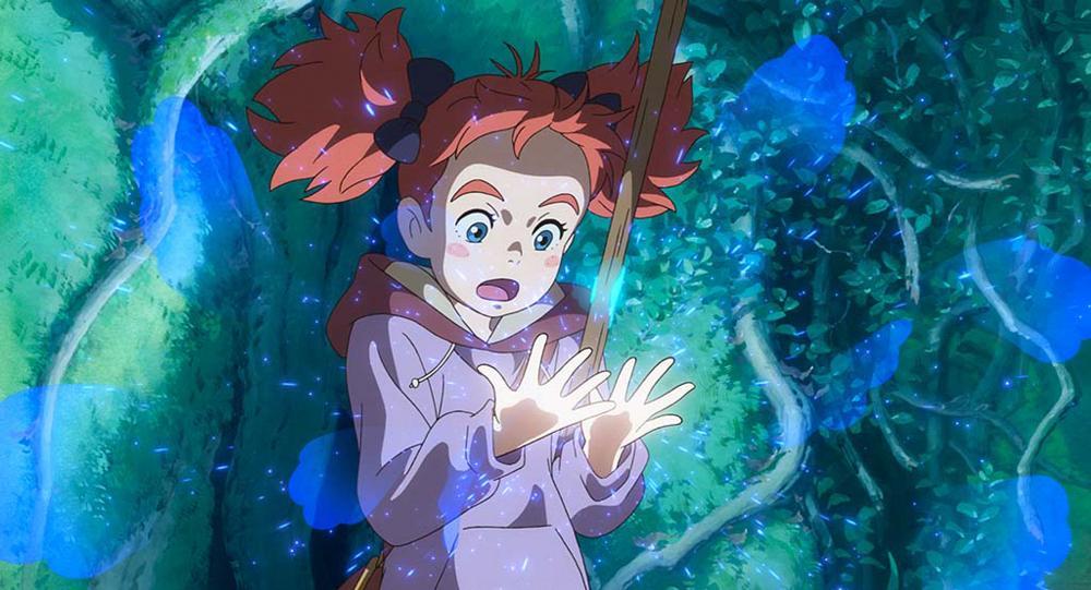 Мэри и ведьмин цветок 2, кадр из аниме