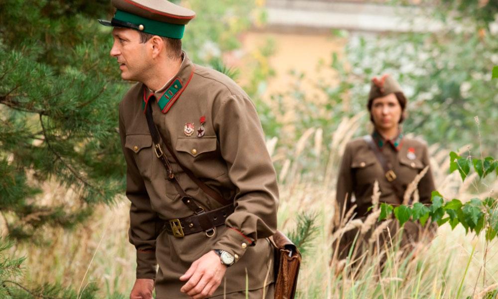 По законам военного времени 3 сезон, кадр из сериала