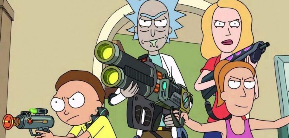 Рик и Морти 5 сезон, кадр из мультсериала 2