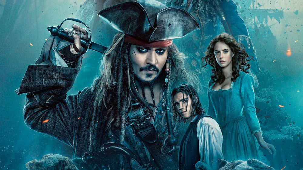 Пираты Карибского моря 6 Сокровища потерянной бездны, Джонни Депп