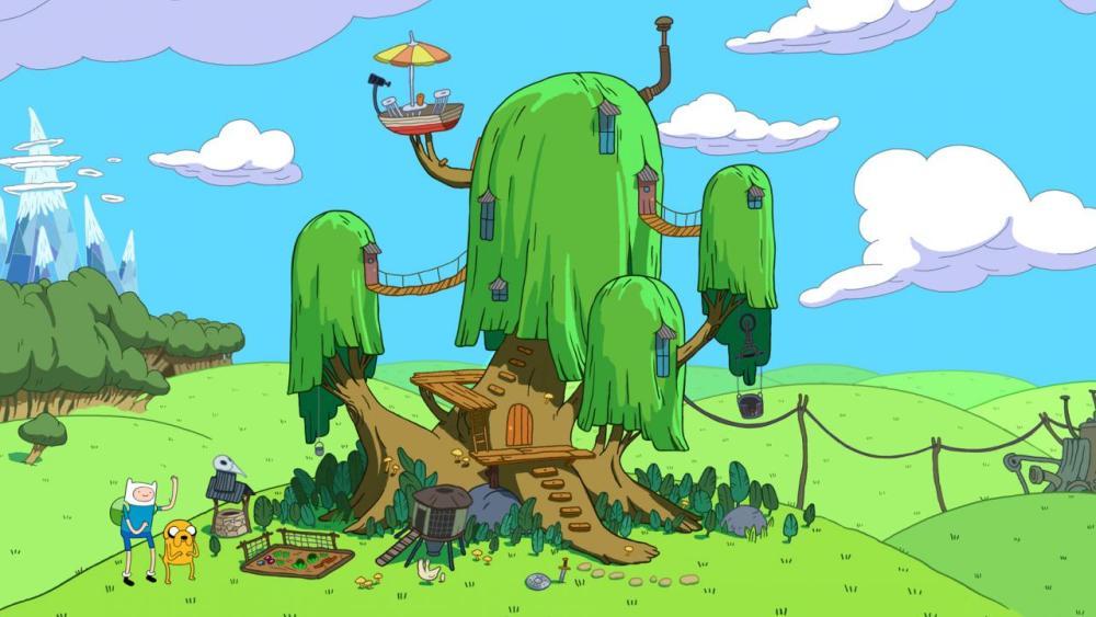 Время приключений 11 сезон, кадр из мультсериала