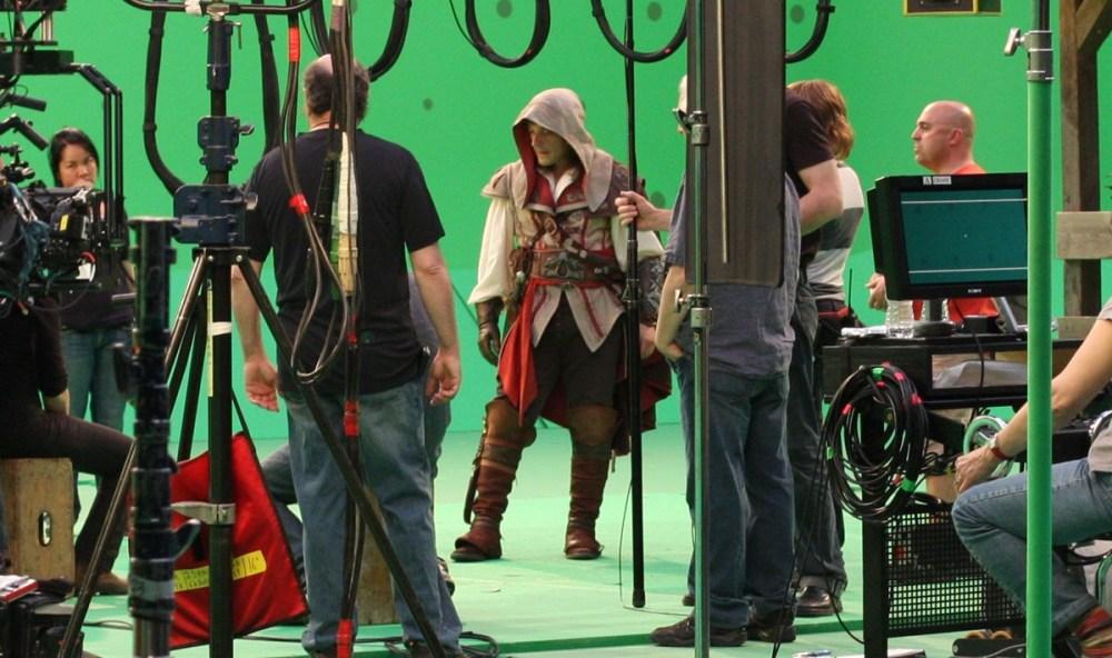 Кредо убийцы 2, кадр со съёмочной площадки