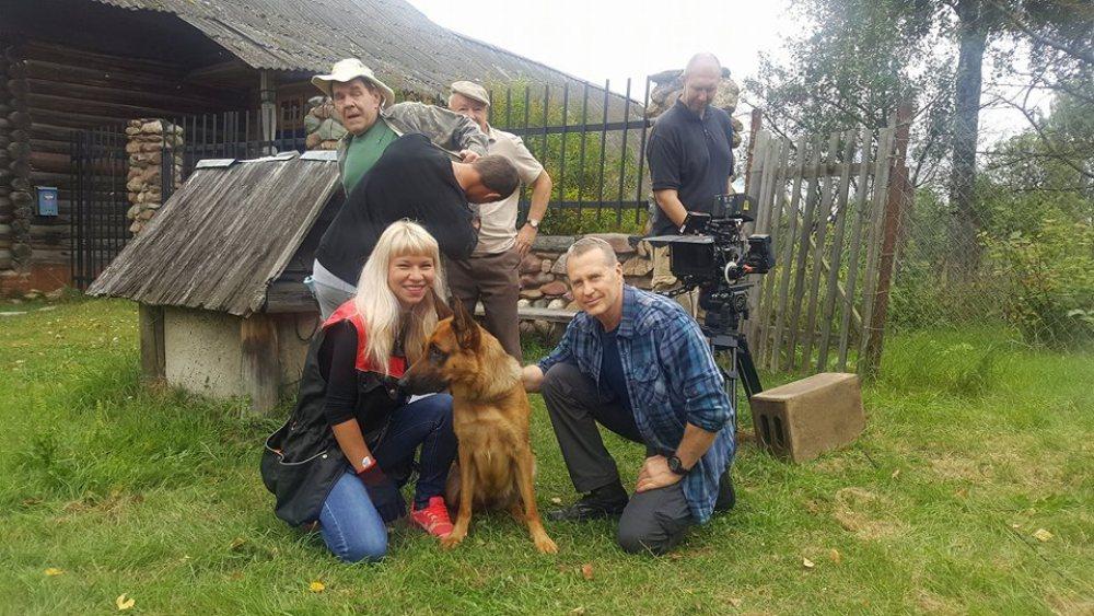 Лесник 5 сезон, кадр со съёмок сериала