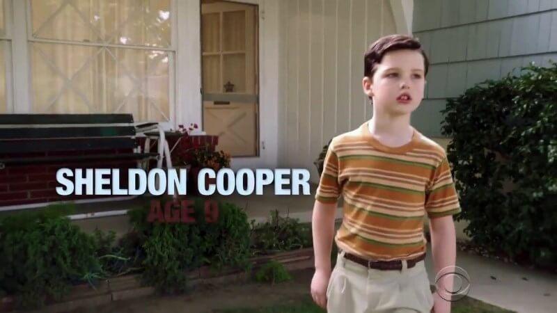 Детство Шелдона 3 сезон, кадр из сериала