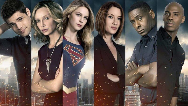 Супергерл 5 сезон главные герои