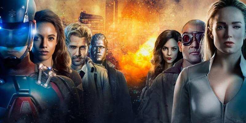 Легенды завтрашнего дня 5 сезон главные герои