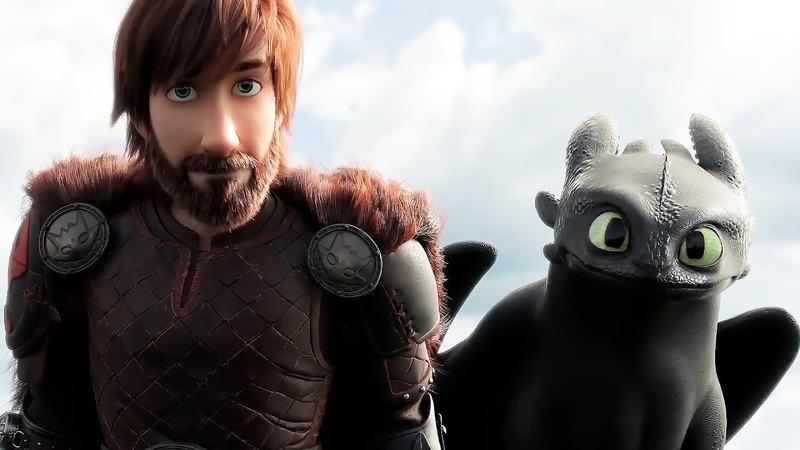 Как приручить дракона 4 кадр из фильма