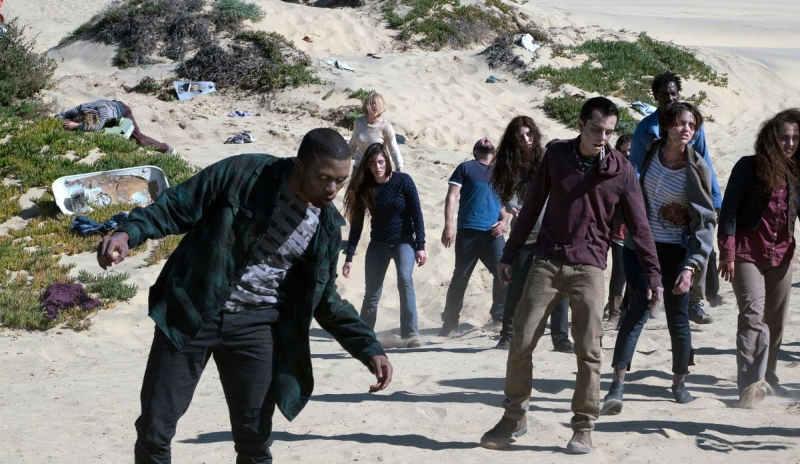 Бойтесь ходячих мертвецов 6 сезон картинка