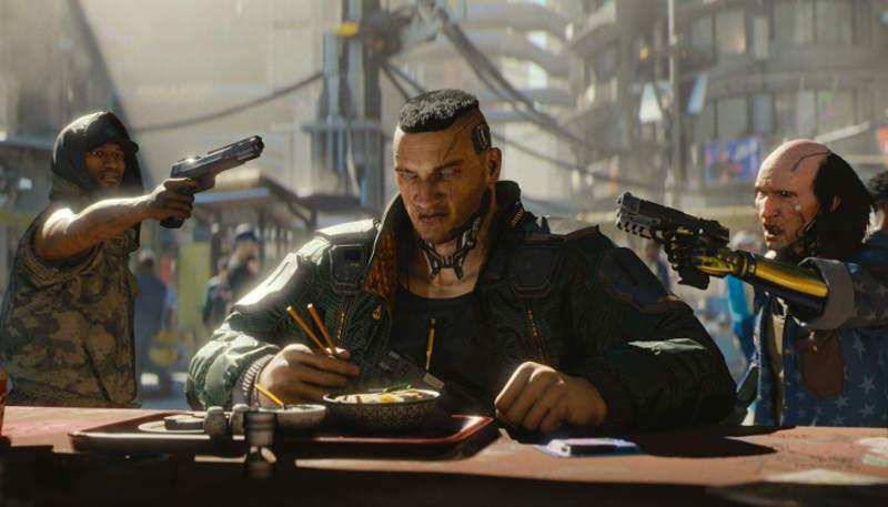 Cyberpunk / Киберпанк 2077 кадр из игры