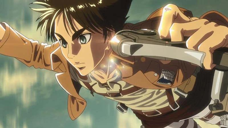 Атака титанов 5 сезон кадр из аниме