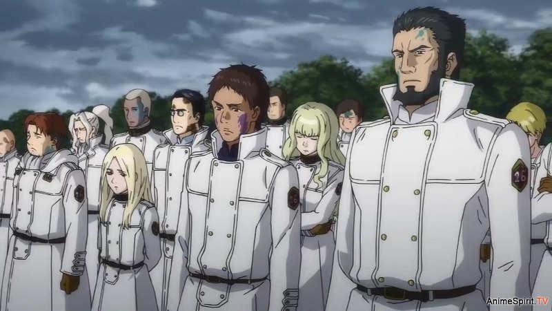 Отвергнутый священный зверь 2 сезон кадр из аниме
