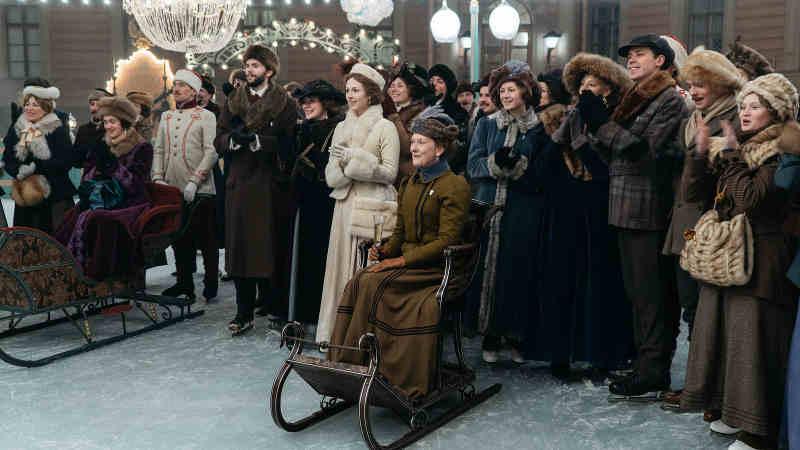 Серебряные коньки кадр из фильма