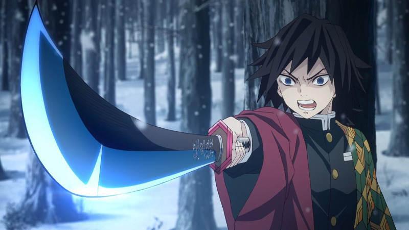Клинок, рассекающий демонов 2 сезон кадр из аниме