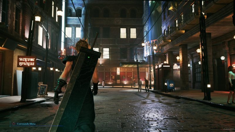 Клауд Страйф Final Fantasy VII Remake