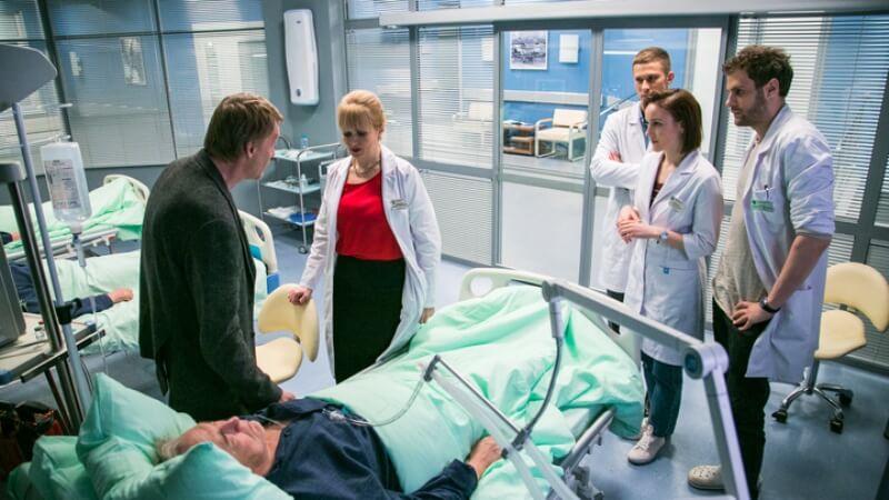 Алексей Серебряков в сериале Доктор Рихтер 4 сезон